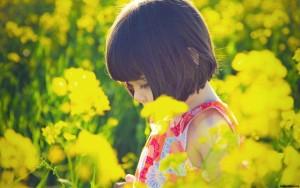 child-nature-cute-girl-flowers-yellow-sun-field-x-196983