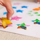 Dicas de pinturas com cola colorida