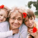 A união entre crianças e idosos